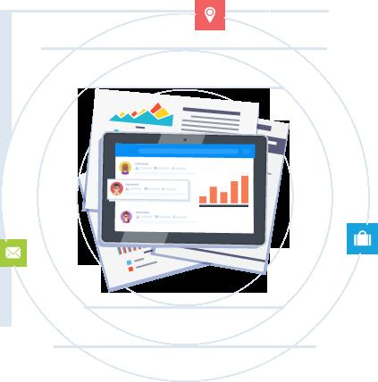 improve alumni data with updates and data enrichment illustration